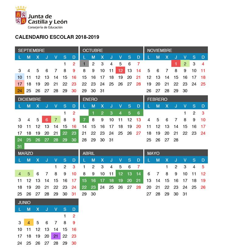 Calendario 2019 Castilla Y Leon.Conservatorio Profesional De Musica Oreste Camarca De Soria